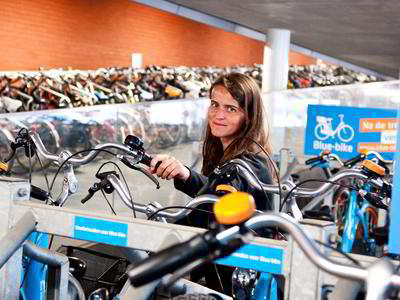 Blue-bike at Antwerp's stations becomes cheaper